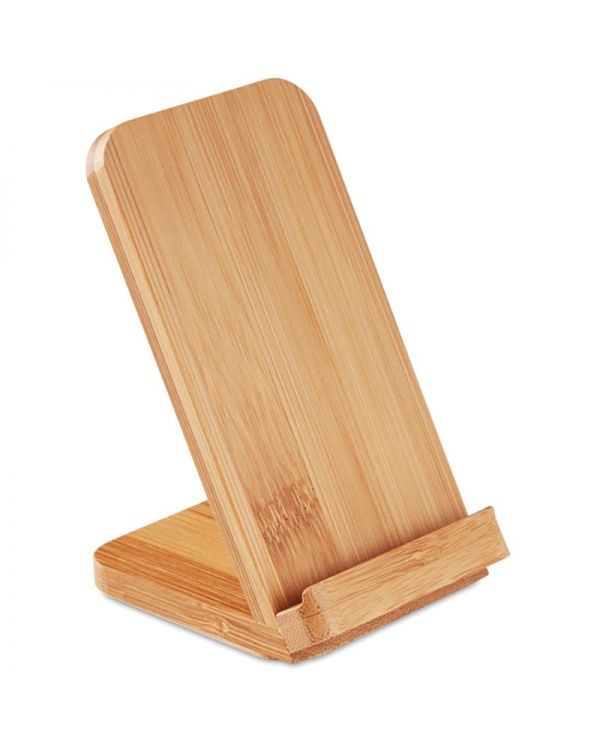 Wire&Stand Bamboo Wireless Charging Stand