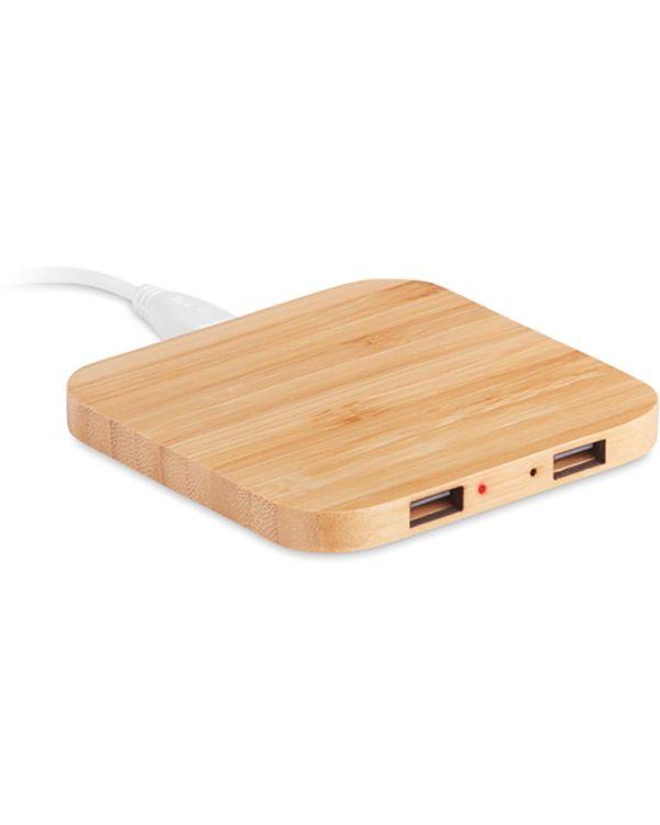 Cuadro Bamboo Wireless Charging Pad