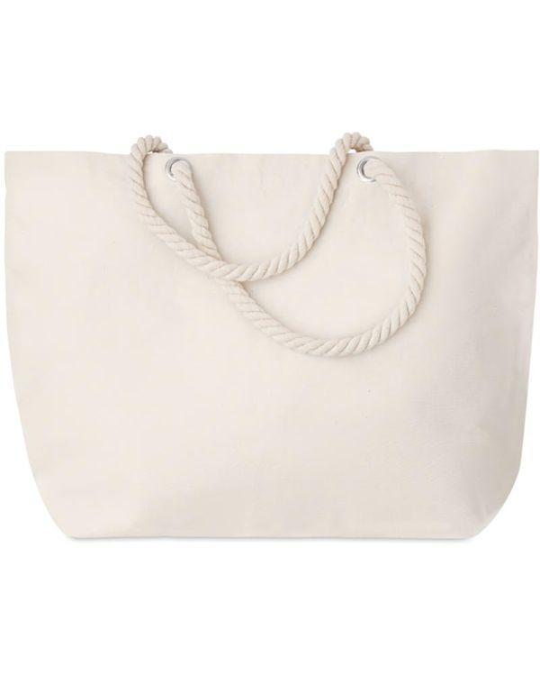 Menorca Beach Bag With Cord Handle