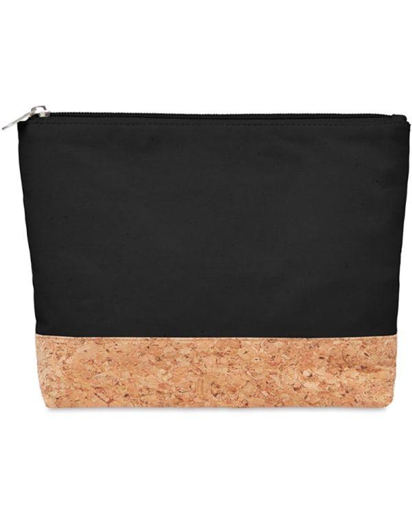 Porto Bag Cork & Cotton Cosmetic Bag