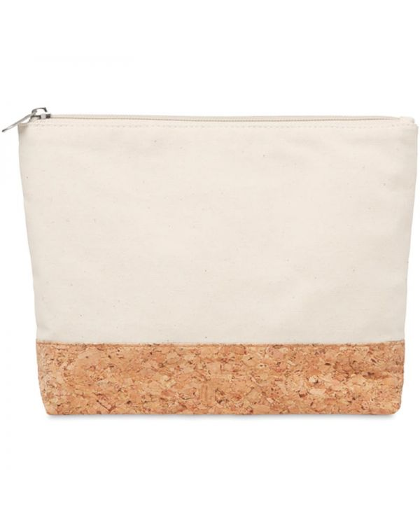 Porto Bag Cork & Cotton Cosmetic Bag
