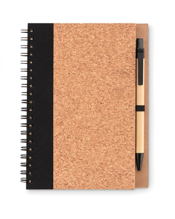 Sonora Pluscork Cork Notebook With Pen