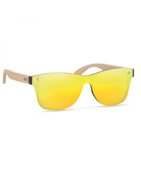 Aloha Sunglasses With Mirrored Lens