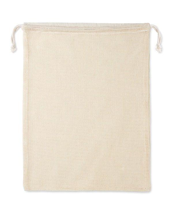 Veggie Re-Usable Cotton Mesh Food Bag