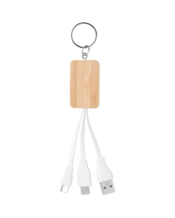 Clauer Bamboo 3-In-1 Cable