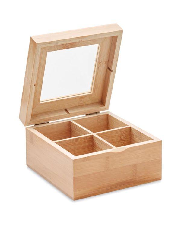 Campo Tea Bamboo Tea Box