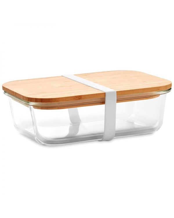 Tundra Lunchbox Glass Lunchbox With Bamboo Lid