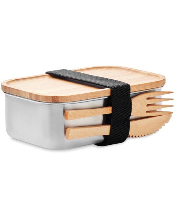 Savanna Stainless Steel Lunchbox 600ml