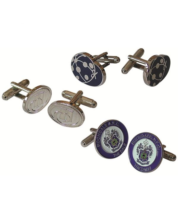 Metal Relief Cufflinks