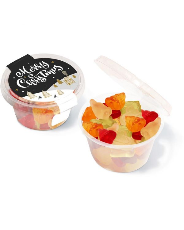 Winter Collection 2020 - Eco Maxi Pot - Kalfany Christmas Fruit Gums
