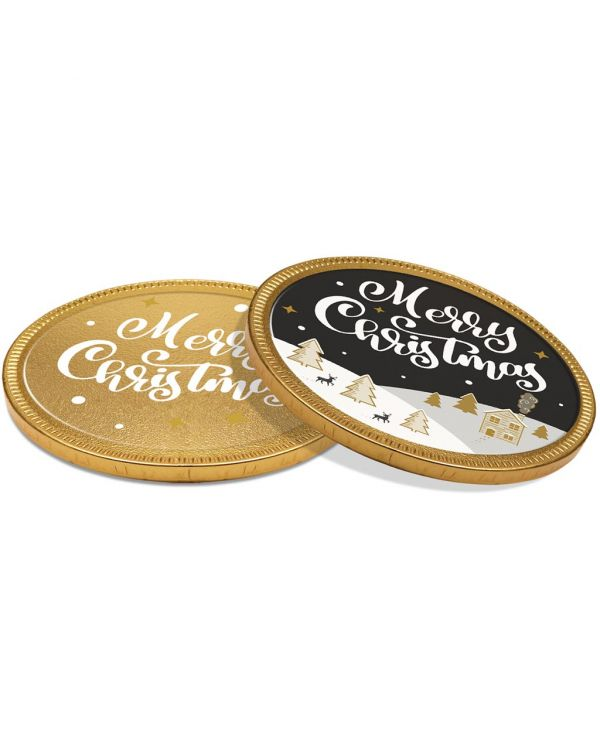 Winter Collection 2020 - Chocolate Medallion - 100mm