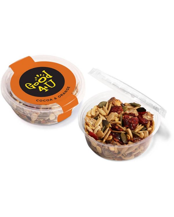 Eco Range - Eco Midi Pot - Cocoa & Orange Snacks