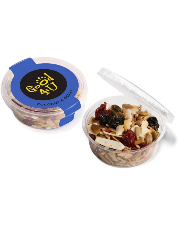 Eco Range - Eco Midi Pot - Coconut & Berry Snacks