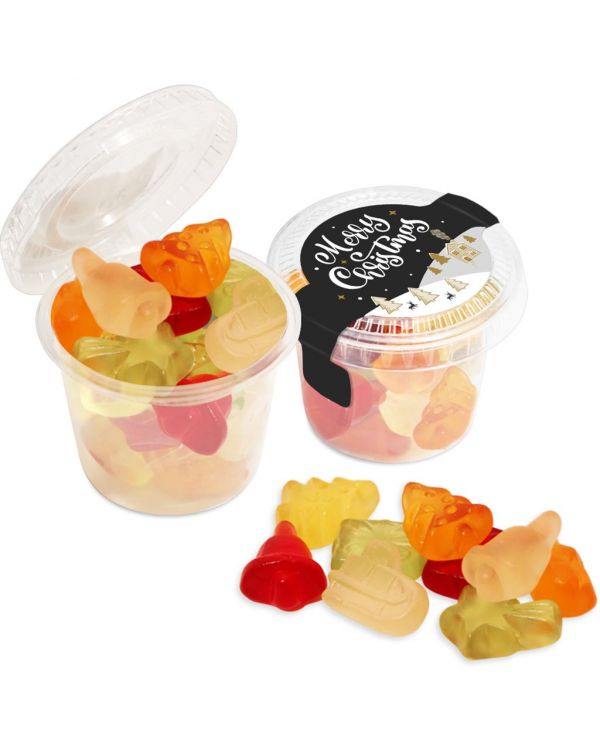 Winter Collection 2020 - Eco Mini Pot - Kalfany Christmas Fruit Gums