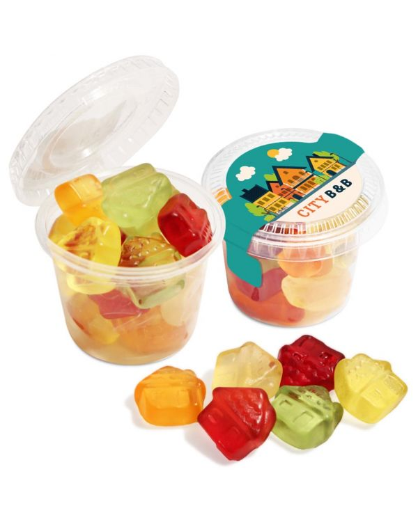 Eco Range - Eco Mini Pot - Kalfany Fruit Gums