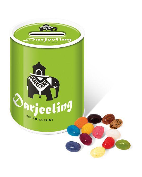Money Tin - The Jelly Bean Factory