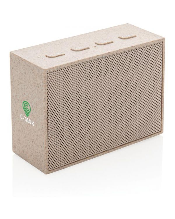 Wheat Straw 3W Mini Speaker