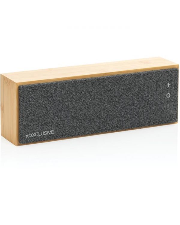 Wynn 10W Wireless Bamboo Speaker