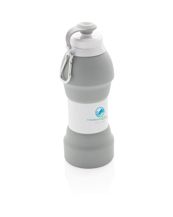 Foldable Silicon Sports Bottle