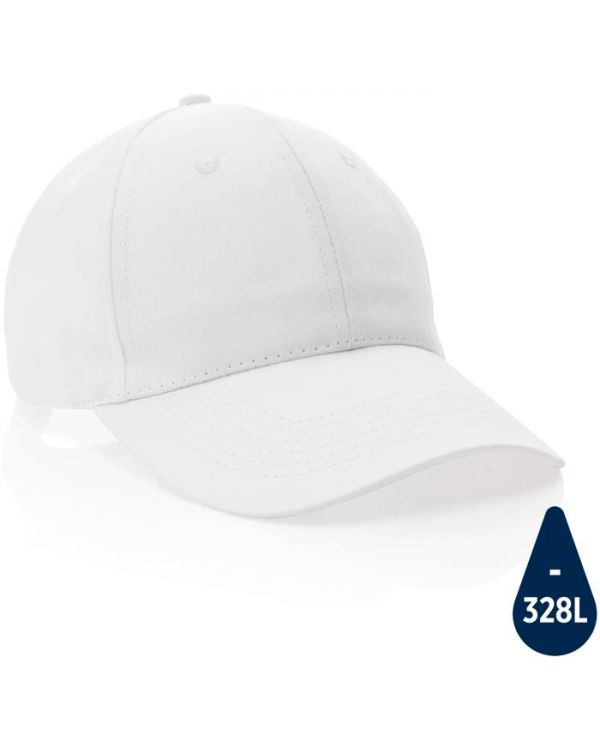 Impact 6 Panel 190gr Recycled Cotton Cap With Aware Tracer