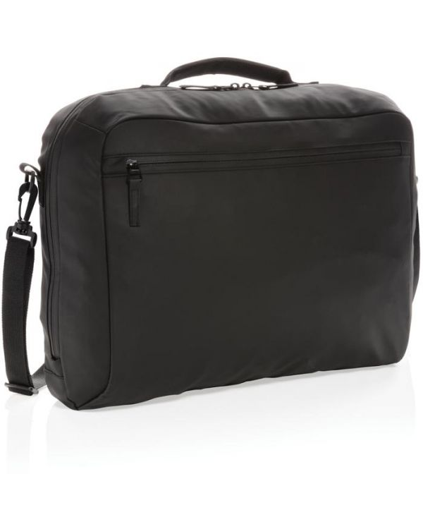 Fashion Black 15.6 Inch Laptop Bag PVC Free