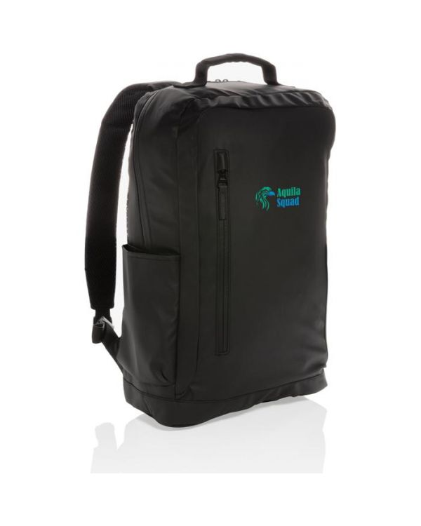 Fashion Black 15.6 Inch Laptop Backpack PVC Free