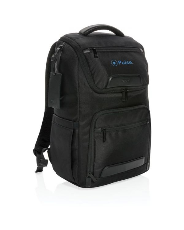 Swiss Peak RPET Voyager USB & RFID 15.6 Inch Laptop Backpack