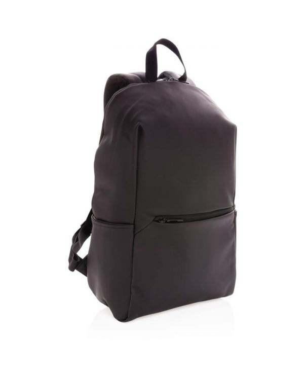 "Smooth PU 15.6""Laptop Backpack"