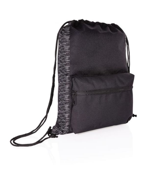 Aware RPET Reflective Drawstring Backpack