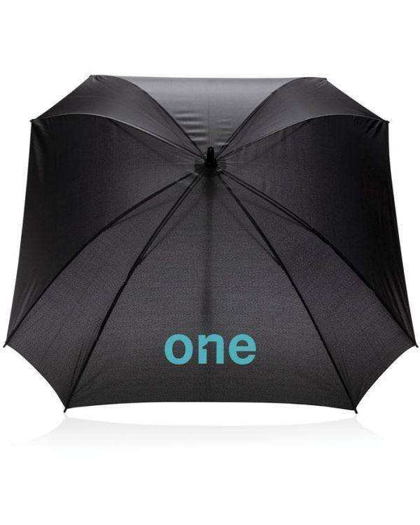27 Inch Manual XL Logo Space Square Umbrella