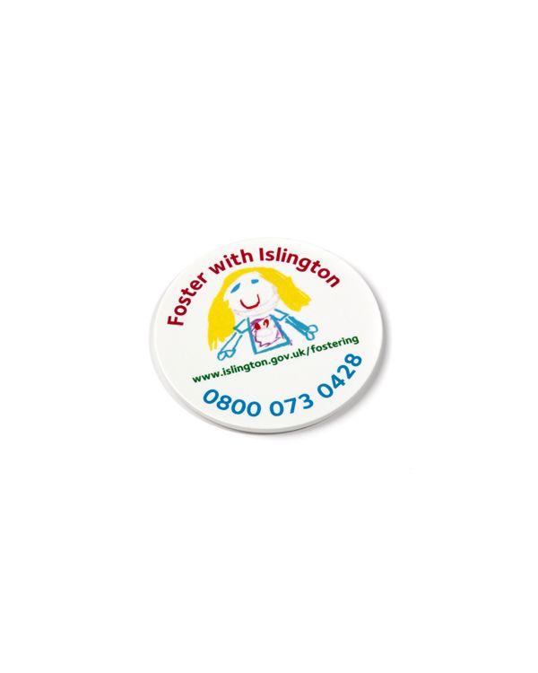 37mm Pin Badge