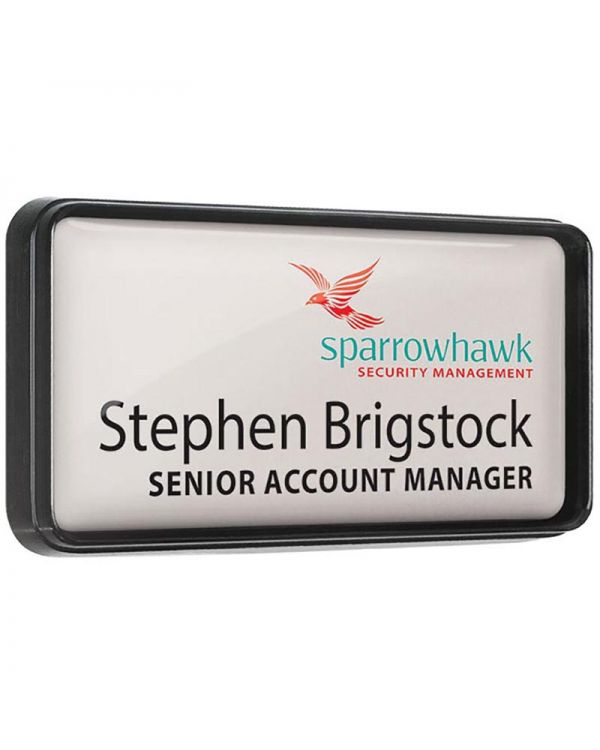 Personalised Plastic Framed Name Badges