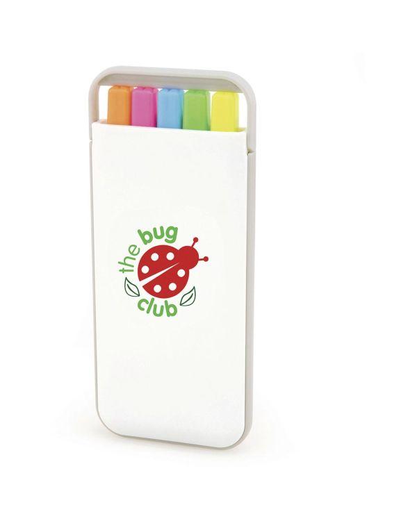 Buzz Highlighter Pen Set in Case