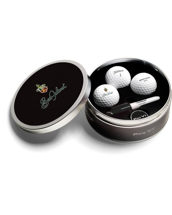 Titleist Pro V1X Golf Ball Tin