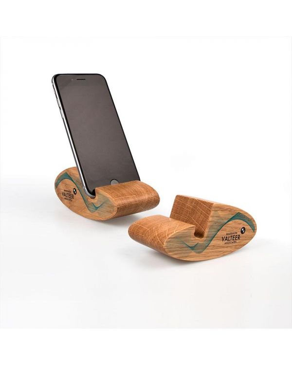 Real Wood 'Gently Rocking' Mobile Phone Stand