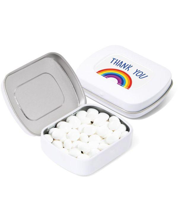 Pocket Tin - Rainbow Mints