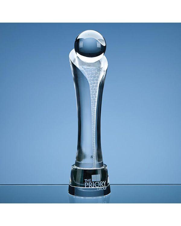 30cm Optical Crystal Eclipse Award