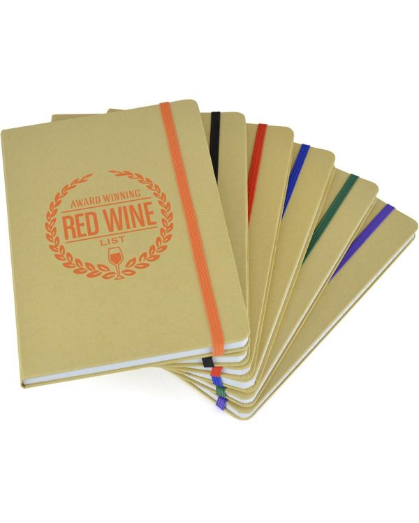 A5 Natural Recycled Notebook