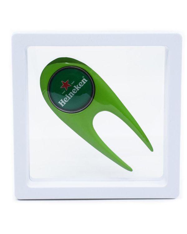 Contemporary Golf Divot Repair Tool Presented In Levit8 Packaging