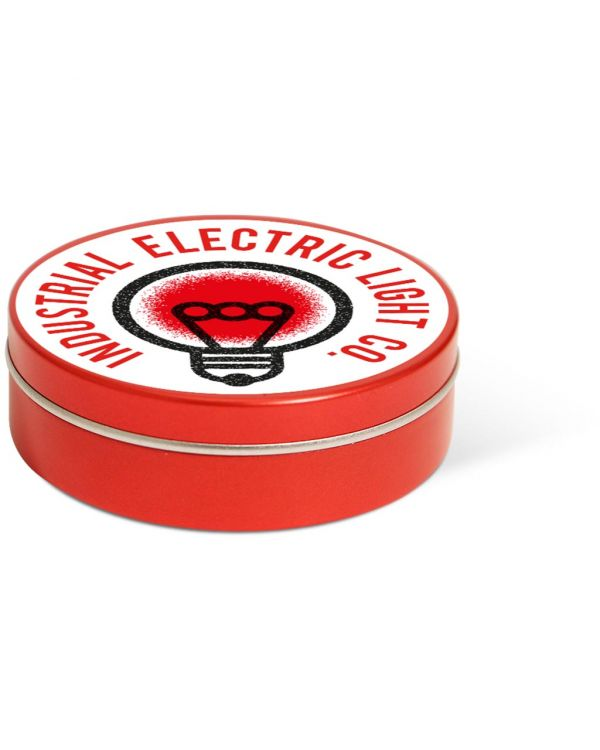 XS Peppermint Tin - Red - Paper Label