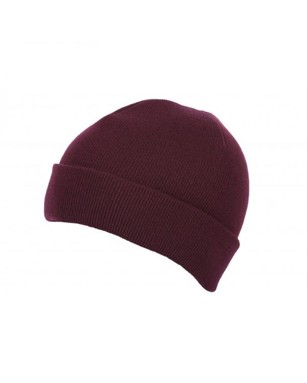 Premium Knit Beanie With Turn Up