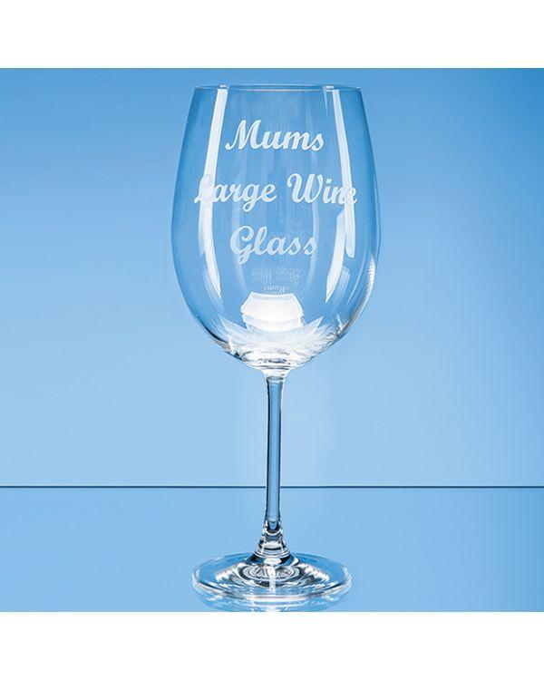 850ml 'Grande Vino' Full Bottle of Wine Glass*