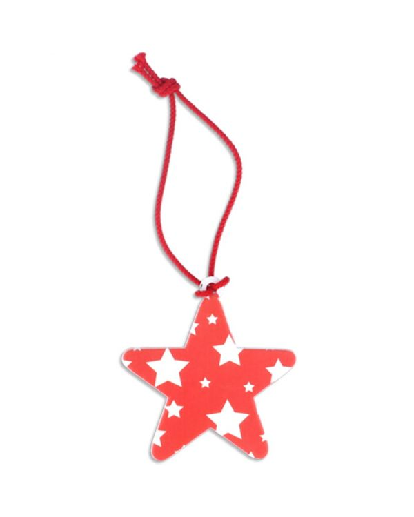 Recycled Star Christmas Tree Decoration