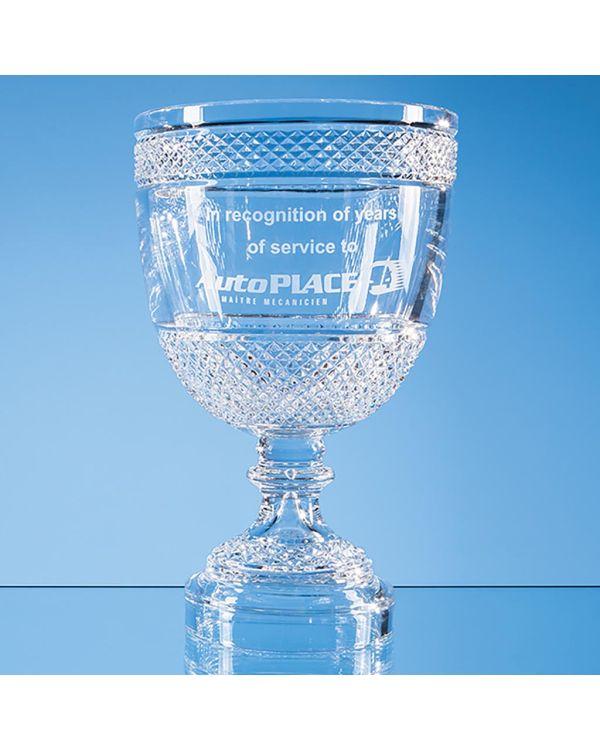 35cm Lead Crystal Footed Presentation Bowl