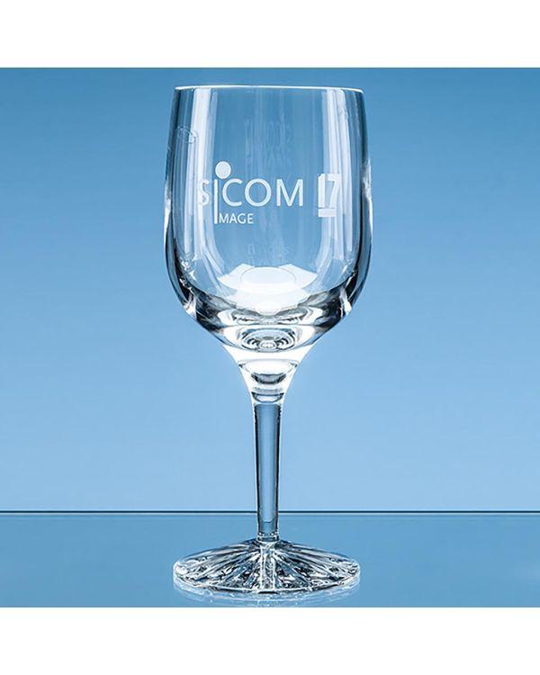 280ml Grosvenor Lead Crystal Goblet with Star Cut Base