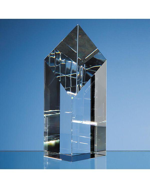 18cm Optical Crystal Diamond Award