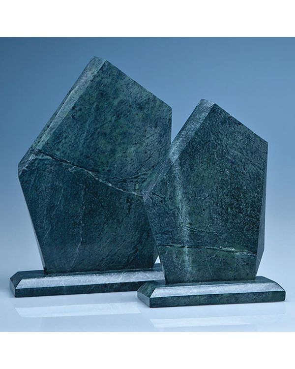 25cm Green Marble Facetted Ice Peak Award