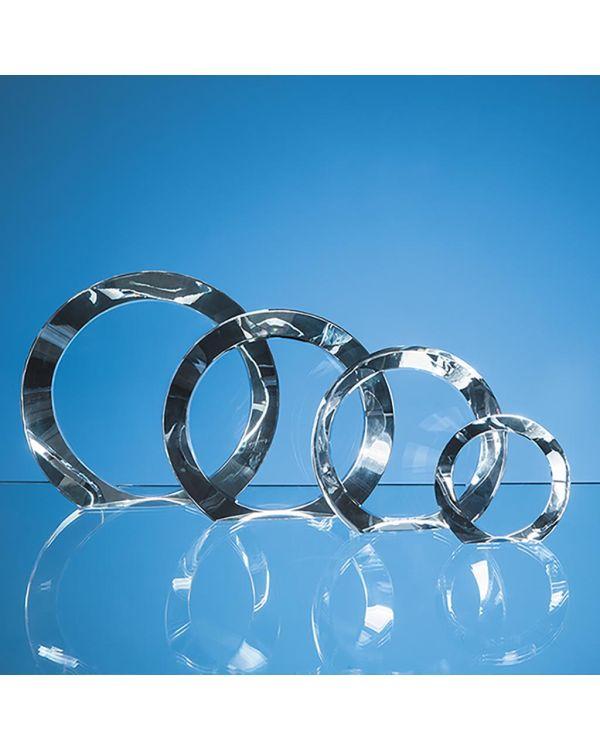 15cm Optical Crystal Elite Circle Award