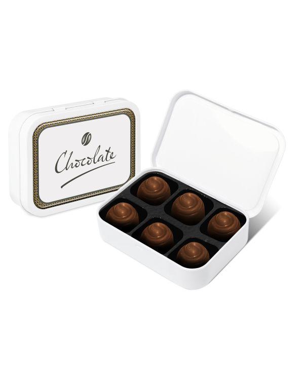 Sweet Tin White Salted Caramel Chocolates