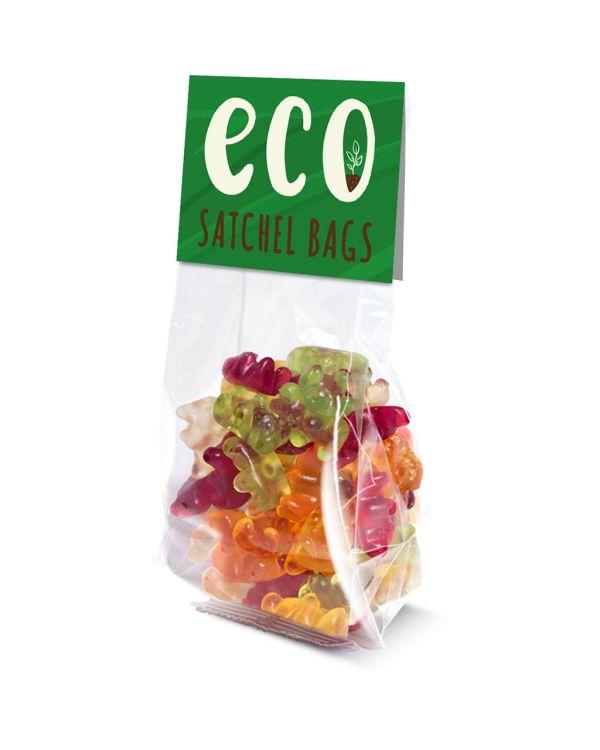 Eco Range - Satchel Bag - Kalfany Vegan Bears